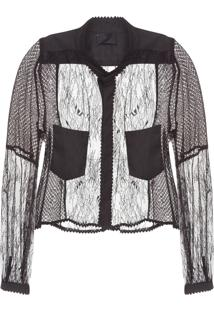 Camisa Feminina Reply Couture - Preto
