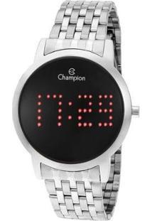 Relógio Champion Feminino Digital - Feminino-Prata