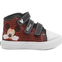 5c832048302 Tênis Disney Mickey Infantil - Masculino-Vermelho+Preto