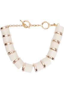 Colar Feminino Brique - Off White