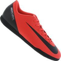 099ce1565 Centauro. Chuteira Futsal Nike Mercurial Vapor X 12 Club Cr7 Ic ...