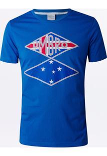 Camiseta Masculina Torcedor Cruzeiro Flag 4ec57371d83fd