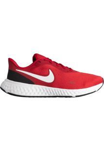 Tênis Masculino Nike Revolution 5 Corrida Vermelho/Preto - 39