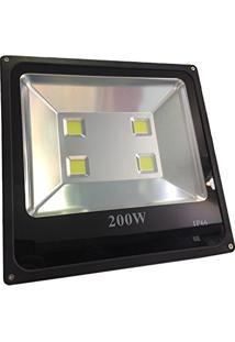 Refletor Holofote Super Led – 200W – Branco Frio – Bivolt Ip66 – Lcq