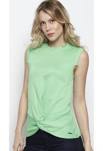 Blusa Em Moletom - Verde - Colccicolcci e8c601a1d60