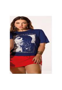 T-Shirt Com Estampa Elegance