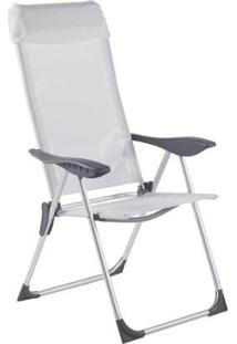 Cadeira De Praia Bel Lazer Alumínio 5 Posições - Unissex