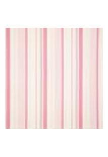 Papel De Parede Importado Vinilico Lavavel Listrado Rosa Top