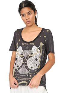 Camiseta Forum Astrologia Preta