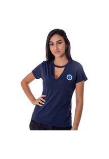 Camiseta Cruzeiro Pilus Feminina