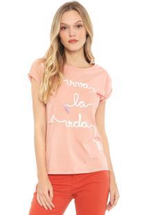 Camiseta Lez A Lez Viva La Vida Rosa