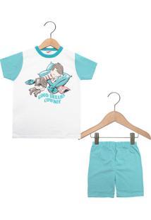Pijama Kiko Curto Menino Branco