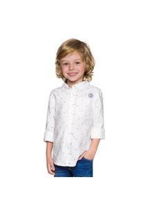 Camisa Infantil Menino Milon Cinza