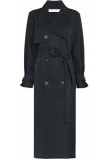 See By Chloé Trench Coat Jeans - Azul