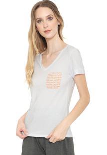 Camiseta Calvin Klein Underwear Lettering Branca