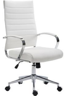 Cadeira De Escritório Presidente Giratória Portugal Branca