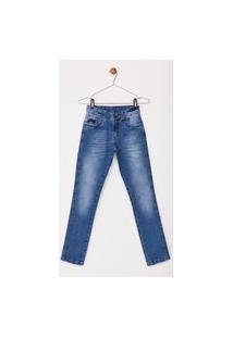 Calça Jeans Express Infantil Juno Azul