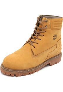 Bota Couro Timberland Factory 73 Boot Amarelo