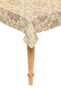 Toalha De Mesa Retangular Corttex Home Design Toscana Florenca Bege
