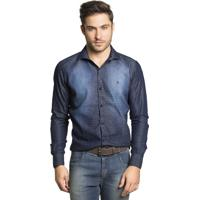 b638e31ac2 Camisa Tony Menswear Estampada Slim Fit Jeans