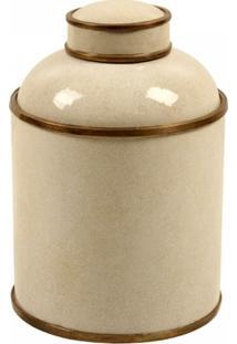 Vaso Decorativo De Porcelana Amur - Unissex