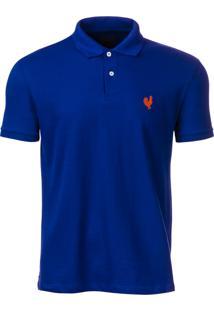 1f1c49690e Camisa Polo Made In Mato Masculina Azul Royal