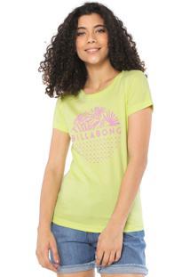 Camiseta Billabong Cosmo Verde
