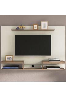 Painel Para Tv Até 60 Polegadas Essence Off White/ Pinho - Artely