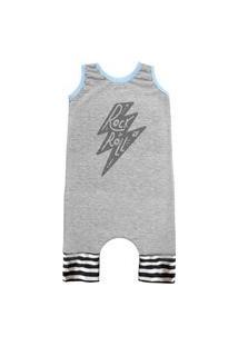 Pijama Regata Comfy Raio Rock