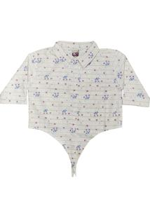 a593ec2c6 Camisa Para Meninas Bege Estampada infantil