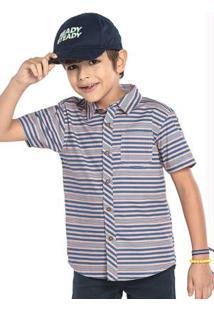 Camisa Rovitex Kids Rosa