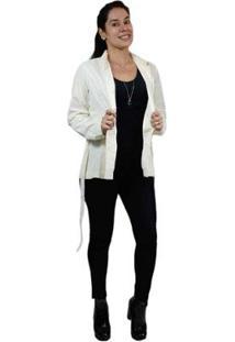 Casaco Trench Coat Clássico Feminino - Feminino-Bege