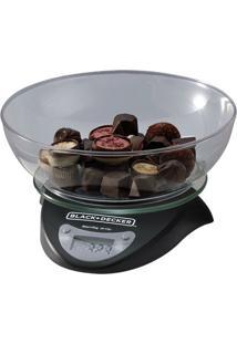 Balança Digital De Cozinha Black & Decker Bc250 Preto