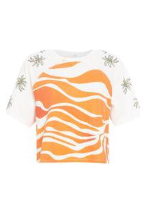 Camiseta Feminina Sik Abbi - Off White