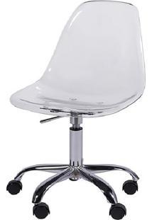 Cadeira Eames Dkr- Incolor & Prateada- 93X47X41Cm