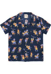 Camisa Infantil Menino Estampada Jana Glatt