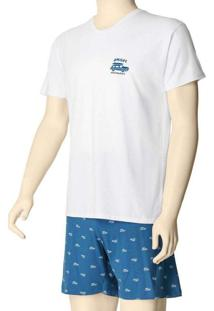 Pijama Masculino Curto Malwee 1000088394 00001-Bra