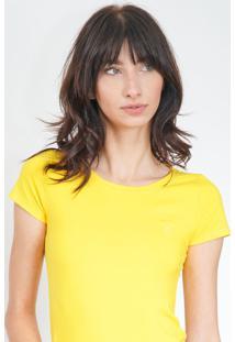 Camiseta Polo Wear Color Amarela