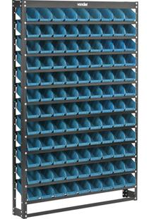 Estante Metálica 1083 Azul - Vonder