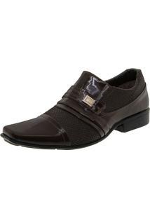 Sapato Masculino Social Café Street Man - 462