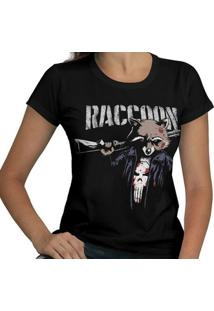 Camiseta Punisher Raccoon