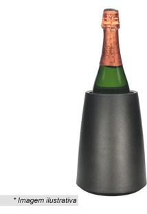 Cooler Para Champanhe- Preto- 20Xø10Cmfull Fit