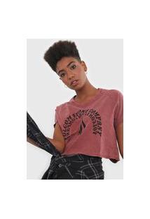 Camiseta Volcom Ringer Vermelha