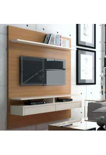 Painel Para Tv Até 50 Polegadas 1,60M 2 Gavetas Versatile Casa D Noce/Off White