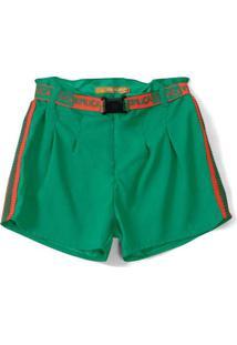 Short Lilica Ripilica Infantil - 10111543I Verde