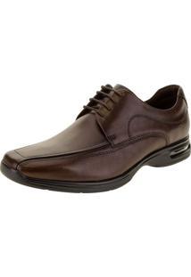 Sapato Masculino Social Air Spot Democrata - 448026 Café 38