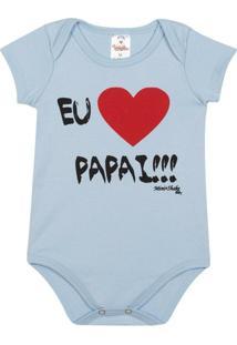 a625201b38d6 Body Bebê Algodão Mini Shake Eu Amo O Papai Masculino - Masculino