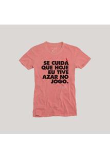 Camiseta Se Cuida Vermelho