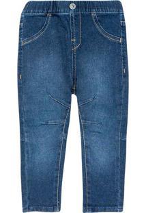 Calça Jeans Infantil Menino Com Elástico Toddler Hering Kids