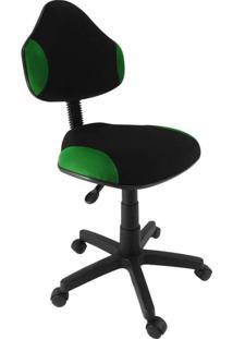 Cadeira De Escritório Secretária Giratória Verona Verde Escuro
